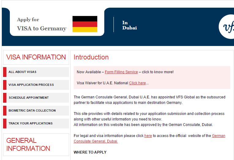 كيفية حجز موعد من القنصلية الالمانية في دبي