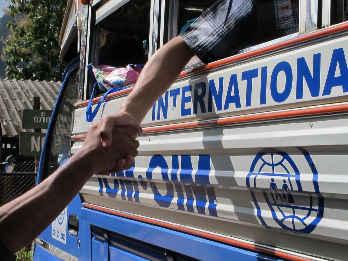الاستعلام عن معاملة في منظمة الهجرة الدولية