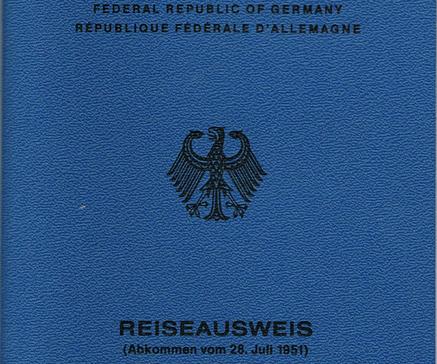 الجواز الازرق