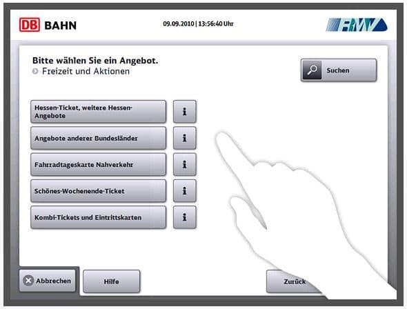 Länder-Tickets تذاكر القطارات في المانيا - الشرح الكامل
