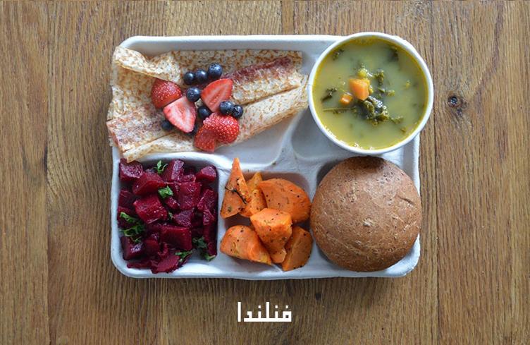 غذاء التلاميذ في فنلندا