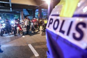 القوانين والشرطة والنظام في ماليزيا